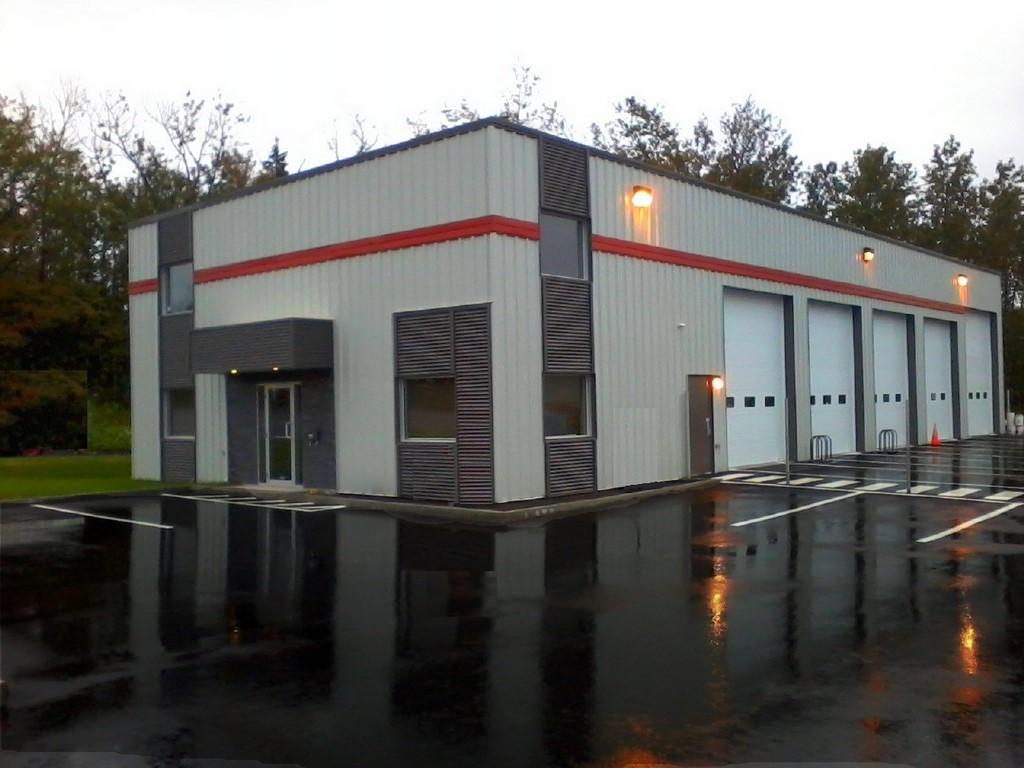 Construction de batiment commercial