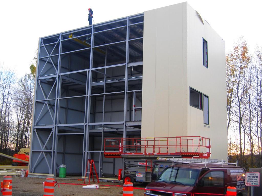 Insulation panel installation - Entreprises CFL
